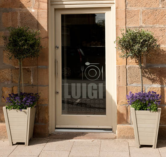 Luigi, Restaurant and Cafe in the heart of Royal Dornoch